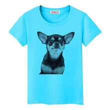 Load image into Gallery viewer, Super cute puppy T-shirt women's favorite clothes lovely dog 3D shirts Good quality brand tees casual tops