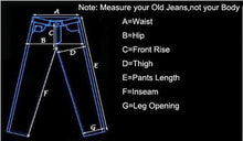 Load image into Gallery viewer, New Men Ankle Zipper Skinny Jeans Ripped Distressed Destroyed Fashion Casual Designer Brand Urban Jeans