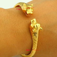 Load image into Gallery viewer, Dragon Bangles for Women Men Gold Color Bangle Bracelet  Jewelry