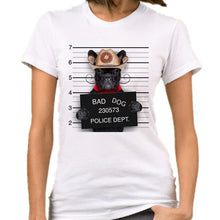 Load image into Gallery viewer, Very Bad Dog  Funny Print Tee Tops  Short Sleeve Female T Shirt Casual  Femme Clothes