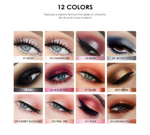 Eyeliner Pen New Arrive Beauty Highlighter Eyeshadow Pencil Cosmetic Glitter Eye Shadow - moonaro
