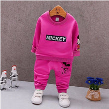 Load image into Gallery viewer, Baby Boys Clothes Full Sleeve T-shirt And Pants 2pcs Cotton Suits Children Clothing Sets - moonaro