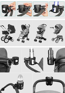 Baby Stroller Accessories Cup Holder children tricycle bicycle Cart Bottle rack  Milk Water pushchair carriage buggy - moonaro