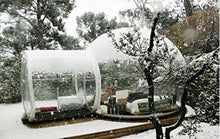 Load image into Gallery viewer, Transparent  outdoor camping Inflatable clear Bubble Tent