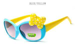 Goggle Girls Alloy Sunglasses Hot Fashion  Boys Girls Baby Child Classic Retro Cute Sun Glasses - moonaro