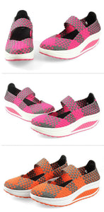 Wedges Colorful Breathable Beach Sandals Woven Platform Woman Shoes women's Sandals Shoes For Women Jelly Shoes