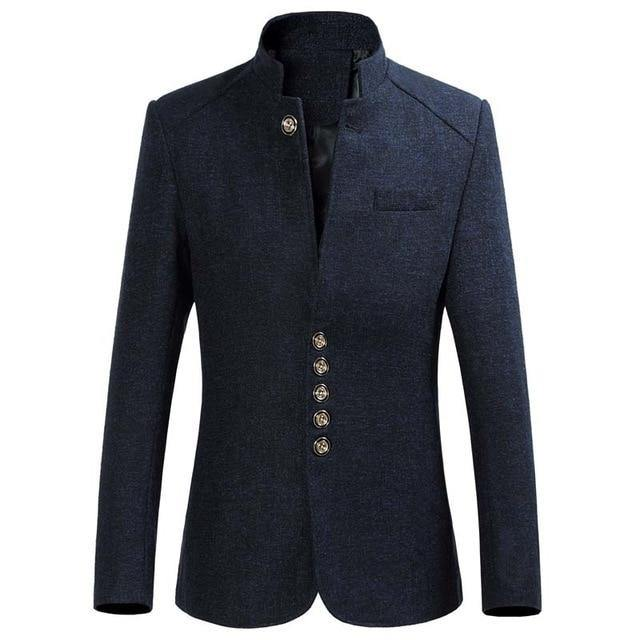 Casual men blazer Slim Fit Men Jacket Unique Design men