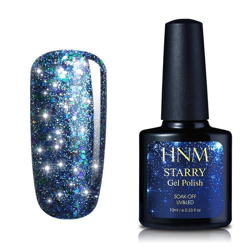 10ML Starry Bling Nail Polish Varnish Semi Permanent Lacquer Gelpolish 30 Colors Starry Bling Stamping DIY Nail Art - moonaro