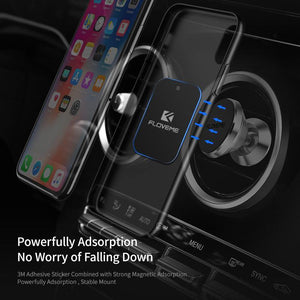 Metal Plate For Magnetic Car Phone Holder Iron Sheet Replacement Metal Plate with Adhesive for Magnet Mount Stand GPS