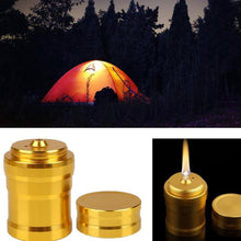 Load image into Gallery viewer, 1PC Portable Metal Mini Alcohol Lamp Heating  Liquid Stoves Outdoor survival Camping Hiking Travel (Without Alcohol) - moonaro