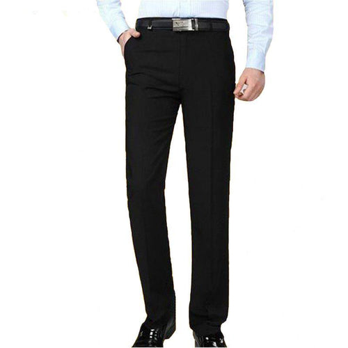 Winter Male Loose Casual Business Trousers Straight Fluid