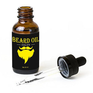 Men Beard Oil Kit barb Styling Grooming Growth with Beard Oil Comb Beard Cream
