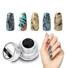 Load image into Gallery viewer, 3D Nail Art Paint Color Gel DIY Nail Art Colors Draw Painting Acrylic Color UV Gel Tip 12 Colors Painting Gel In Nail Hot