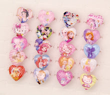 Load image into Gallery viewer, 50pcs Lovely Mix Resin Cartoon Snow Queen Girls Princess Children/Kids Rings - moonaro