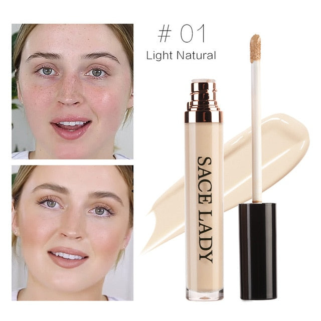 Full Cover Pro Makeup Concealer Cream Face Corrector Liquid Make Up Base For Eye Dark Circles Facial Natural Cosmetic - moonaro