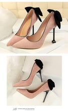 Load image into Gallery viewer, Thin High Heel Pumps Spring Summer Women High Heels Shallow Butterfly-knot Woman Sexy Party Wedding Ladies Shoes