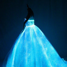 Load image into Gallery viewer, New Elegant Electronic Sparkle wedding Dress Creative Formal dress Dancing Performance wedding Dresses