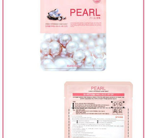 Korean cosmetics Farm Stay pearl skin whitening mask brighten nutrient face elastic Mask, anti-aging nourishing silk facial mask