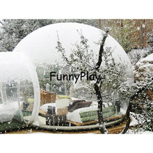 Load image into Gallery viewer, inflatable transparent tent,Hot sale inflatable bubble house,inflatable clear tents,inflatable bubble balloon tent for snow view - moonaro