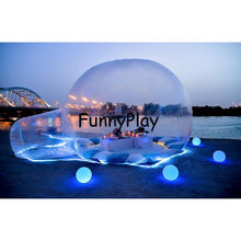 Load image into Gallery viewer, inflatable transparent tent,Hot sale inflatable bubble house,inflatable clear tents,inflatable bubble balloon tent for snow view