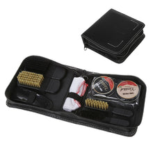 Load image into Gallery viewer, Shoes Care Kit Cleaning Shine Polish Brush Set With Storage Bag For Leather Shoe