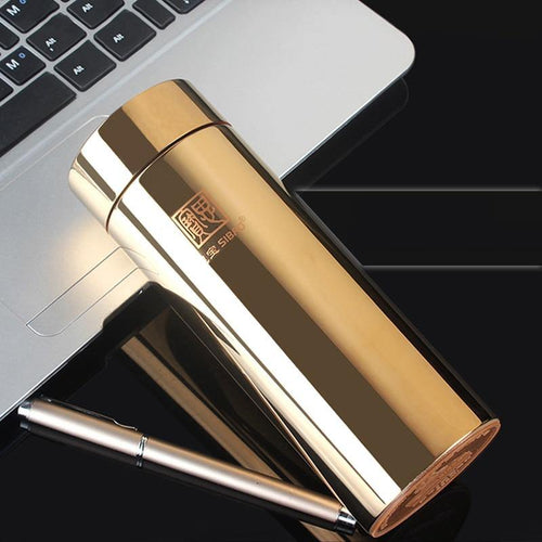 Upscale High Quality 304(18/8) Stainless Steel Vacuum Office Cup Vacuum Flask Straight Cup