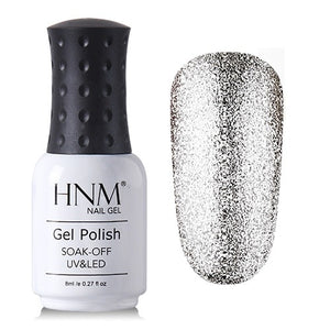 Super Bling Gel Nail Polish 8ML UV Nail Gel Polish Platinum GelLak Glitter Semi Permanent GelPolish Gel Varnish Lacquer