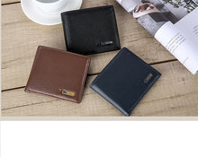Load image into Gallery viewer, Wallet Men Genuine Leather High Quality Anti Lost Intelligent Bluetooth Purse Male Card Holders Suit for IOS, Android