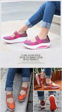 Load image into Gallery viewer, Wedges Colorful Breathable Beach Sandals Woven Platform Woman Shoes women's Sandals Shoes For Women Jelly Shoes