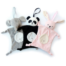 Load image into Gallery viewer, Newborn Blankie soothing towel Of Baby Toys Animal shape Infant Baby Gift Soft Soothe Towel Educational Plush Toys