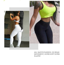 Load image into Gallery viewer, Sexy Women High Elastic Fitness Sport Leggings Yoga Pants Slim Running Tights Sportswear Sports Pants Trousers Clothing