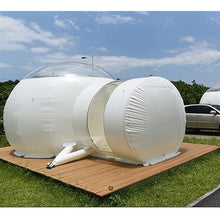 Load image into Gallery viewer, 3m Inflatable Eco Home Tent DIY House Luxury Dome Camping Cabin Lodge Air Bubble - moonaro