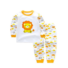 Load image into Gallery viewer, Children Clothing Set Pajamas Sets Kids Girls T-shirt Pants Kit Suit Newborn Baby Boys Clothes Set Pajamas For Boy Suits Outfits - moonaro