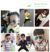 Load image into Gallery viewer, Kids Sunglasses  Children Sun glasses  Baby Sunglasses 100%UV Protection