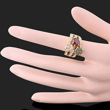 Load image into Gallery viewer, Women's Luxury Cubic Zirconia Crystal  Ring Cocktail Party Jewelry