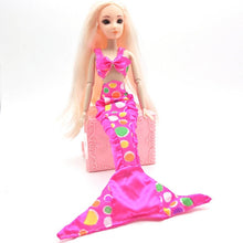 Load image into Gallery viewer, Handmade Dolls Party Dress Gown Skirt Fashion Clothes For Barbie Doll Genuine Mermaid Tail Dress Baby Toy