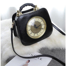 Load image into Gallery viewer, women's clock bag personalized design high-capacity handbag women's shoulder strap Messenger bag