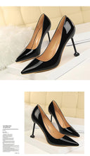 Load image into Gallery viewer, Woman Thin Heels Shoes Career OL Sexy Concise Women Fashion Shallow Mouth Women Pumps Shoes Women Shoes High Heel
