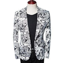 Load image into Gallery viewer, costumes men's blazer jacket men Coat for wedding slim tuxedos Formal Wear Jacket men blazer