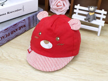 Load image into Gallery viewer, Baby Boys Girls Baseball Cap Toddler Mice Face with Ear Cotton Hat for 1 to 3 Years