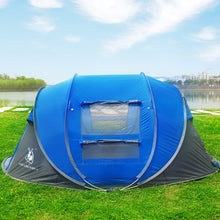 Load image into Gallery viewer, tent outdoor automatic tents throwing pop up waterproof camping hiking tent waterproof large family tents