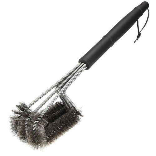Non-stick Barbecue Grill BBQ Brush Stainless Steel Cleaning Brushes