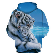 Load image into Gallery viewer, New Fashion Hooded Sweatshirts Men/women 3d Hoodies Print Double Tigers Thin Hooded Hoodies Casual Hoody Tops