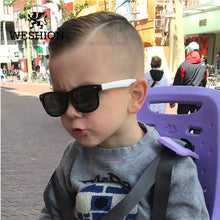 Load image into Gallery viewer, Sunglasses Kids Polarized Children Classic Brand Designer Eyeglasses Rivet TAC TR90 Flexible Safety Frame Shades For Boy