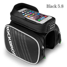 Load image into Gallery viewer, Waterproof Bicycle Bag MTB Bike Bicycle Touchscreen Bags For 5.8/6.0 inch Phone