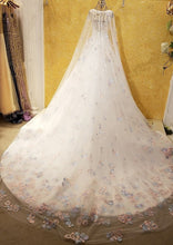 Load image into Gallery viewer, wedding dress with crystal luxury  wedding dresses robe de mariage wedding dress