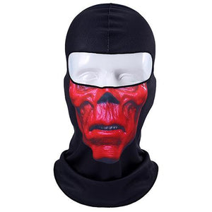 3D Orcs Skull Motorcycle Balaclava Full Face Mask Warm Motor Helmet Liner Ski Paintball Snowboard Biker Riding  Shield Hood