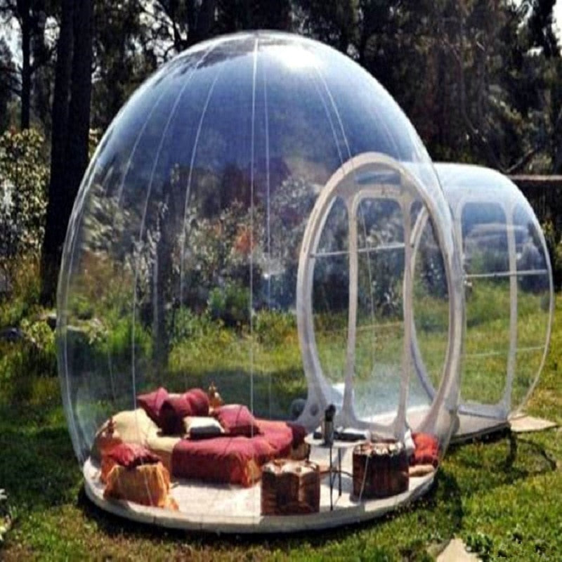 Bubble  inflatable sealed tent   in touch with nature sunshine outdoor Lodge  size 4 M