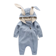 Load image into Gallery viewer, Baby Rompers Cute Cartoon Rabbit Infant Girl Boy Jumpers Kids Baby Outfits Clothes - moonaro