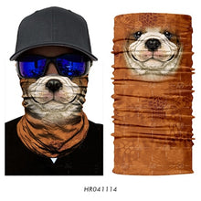 Load image into Gallery viewer, 3D Animal Seamless Magic Neck Gaiter Face Mask Balaclava Shield Camping Cycling Fishing Biker Bandana Headband Scarf Men Women - moonaro